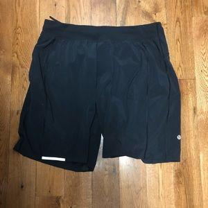 lululemon Men's black shorts